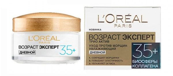 La migliore crema per il viso dopo 35 anni: valutazione..